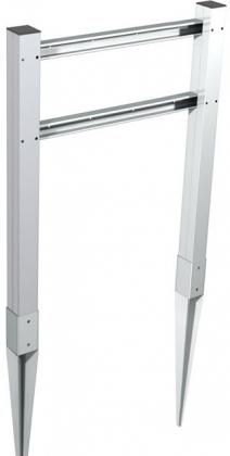 Stala postilaatikon jalka kahdelle PL3/4 postilaatikolle
