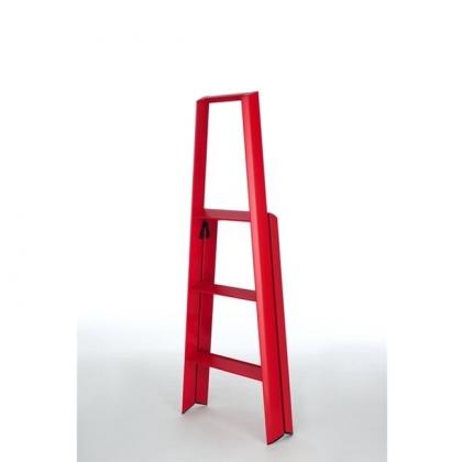 Lucano 3-porrasjakkara punainen
