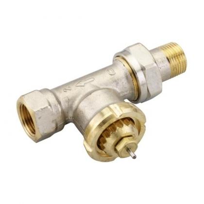 FJVR termostaattinen paluuventtiili DN 15 suora