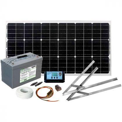 Aurinkoenergiapaketti Sunwind Basic 12V