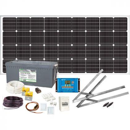Aurinkonenergiapaketti Sunwind Weekend 12V