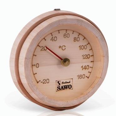 Saunalämpömittari Sawo pyöreä 175-TP