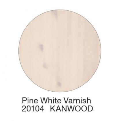 Wc-istuinkansi Kanwood, mänty, valkoinen