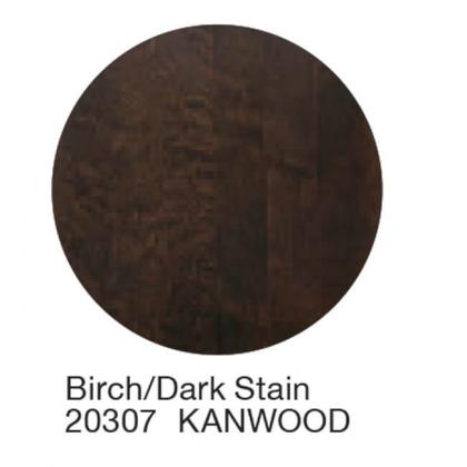 Wc istuinkansi Kanwood koivu, tumma väri