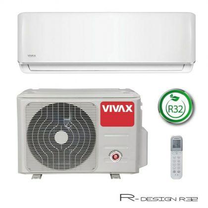 Ilmalämpöpumppu Vivax R-DESIGN 3,81kW, Valkoinen