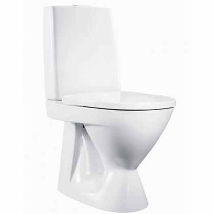 WC-istuin Ido Seven D 10, s-lukko , 1-huuhtelu