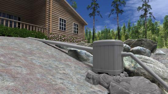 Pipelife Sauna-Seppo pienpuhdistin