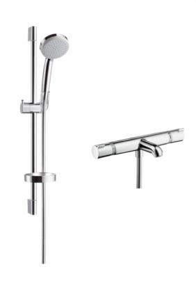 Hansgrohe Croma 100 Vario Ecostat Comfort amme/suihku Combi 0,65 m
