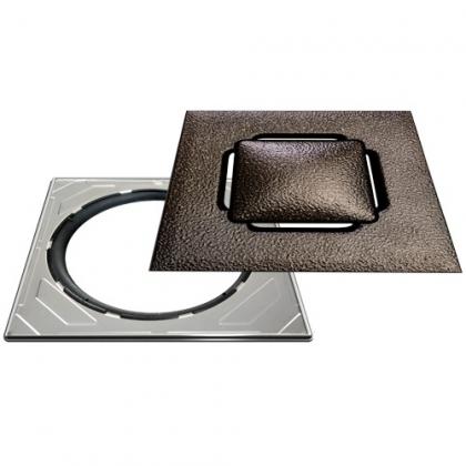 Neliökansi RST Vieser Design bronze 197x197