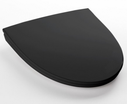 WC -istuinkansi IDO Glow kova 91571 musta