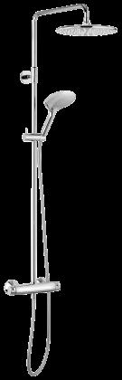 Damixa suihkupaketti BELL kromi-hopea