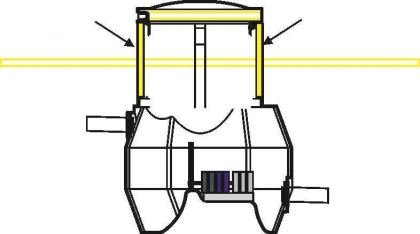 Biobox korotusosan eristepaketti D600 H600