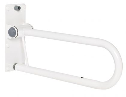 Tukikaide Ridder 555 mm valkoinen taittuva