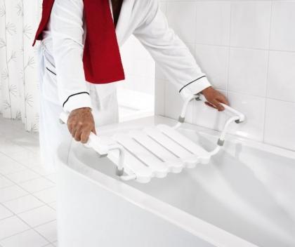 Kylpyammeistuin Ridder valkoinen max. 150kg