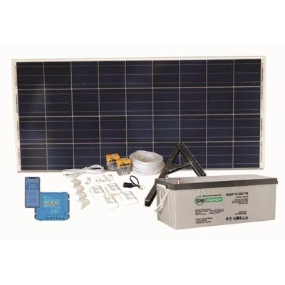 Aurinkosähköjärjestelmä SW OFF-GRID Basic 20V