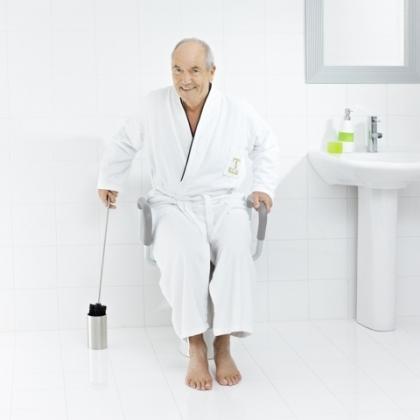WC-harja pitkä Ridder teräs