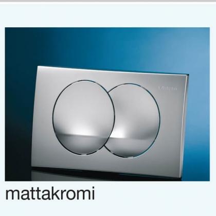 WC-HUUHTELUPAINIKE ALTERNA DUOFIX DELTA20 MATTAKROMI
