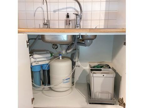 Käänteisosmoosilaite AQVA PURE 2 -paketti juoma- ja ruokavedelle, 16 L/t