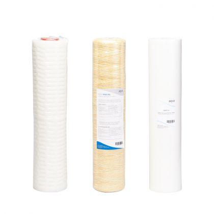 Vaihtosuodatinpaketti AQVA XL - bakteerit, humus