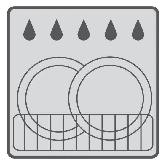 Kylpyhuonetarvikesetti Ridder Touch tummanharmaa 5 osaa