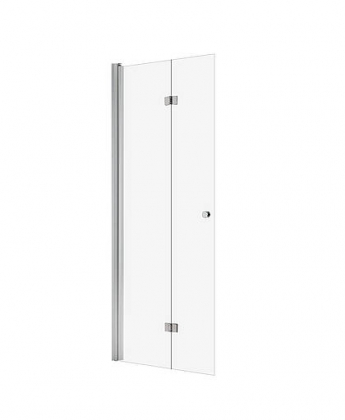 Shower panel B, movable, hinged, clear 195 cm ht