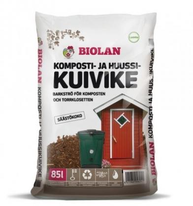 Biolan Komposti- ja Huussikuivike 40l-80l