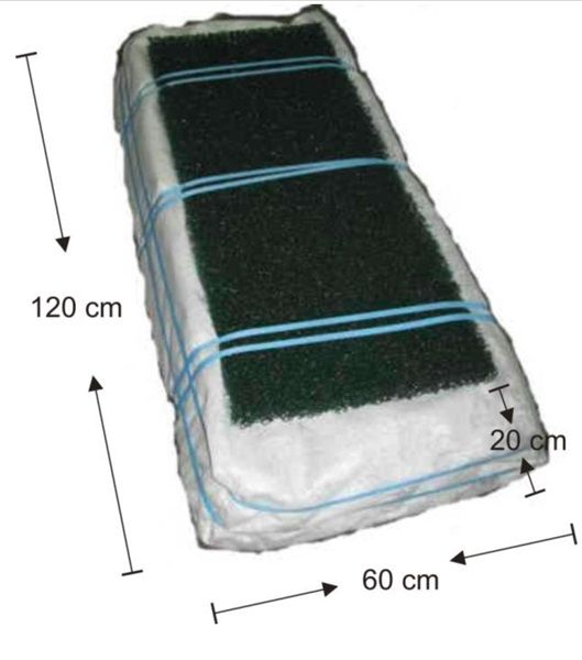 Raita Biomoduuli imeytyspaketti 500l/vrk, 4 moduulia