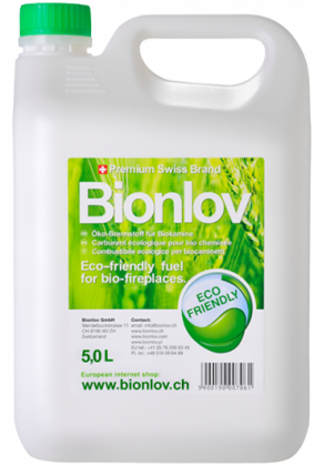 Bio Etanol Bionlov premium for biofireplaces 5L