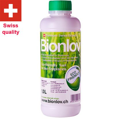 Bio Etanol for biofireplaces Bionlov Premium 6L