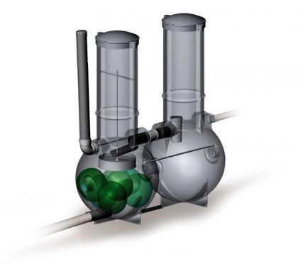Jätevesijärjestelmä Labko BioRami 500 Harmaavesipuhdistamo