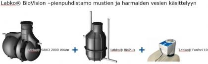 Puhdistamojärjestelmä Wavin Labko Biovision