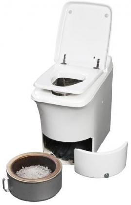 Cinderella Classic incinerating toilet