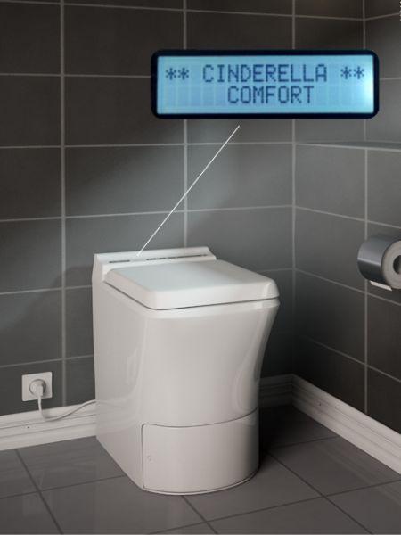 Polttava kuivakäymälä Cinderella Comfort
