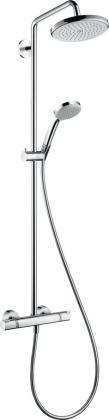 Suihkutermostaatti Hansgrohe Croma 220 Showerpipe