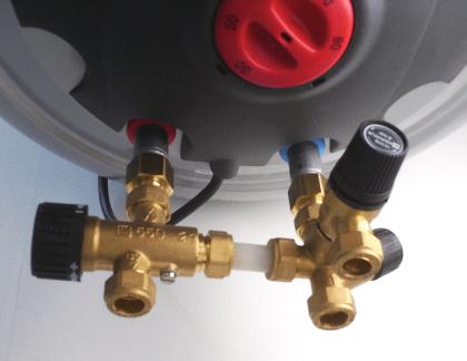 Lämminvesivaraaja ELCO Duro Glass 10 l pysty-ja lattiamalli