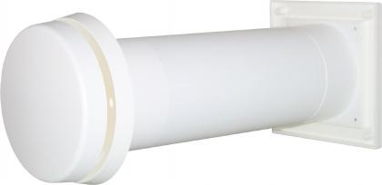 Seinäventtiili F100 Thermo, Ø102 mm
