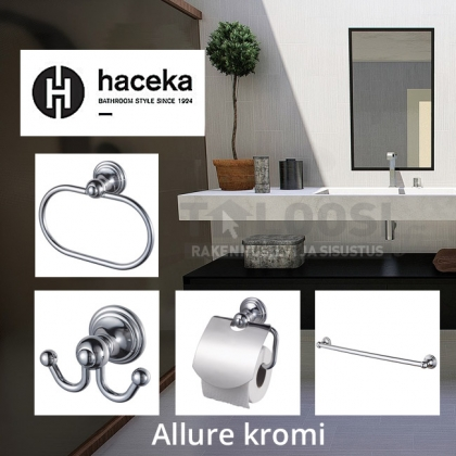 Haceka ALLURE set of 4, chrome