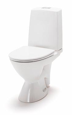 Ido Glow 63 peruskorjaus-WC , ilman kiinnitysreikiä, tavallista suurempi wc-jalka