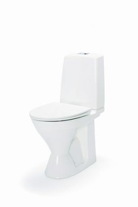 WC-istuin IDO Glow 1-H Korkea, alaslähtöinen