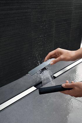 Suihkukouru Geberit CleanLine20 30-90 cm sähkökiillotettu rst