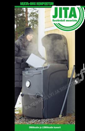Lämpökompostori Jita Multa-Max 330L
