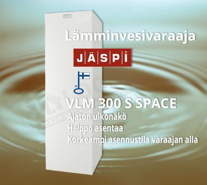 Vedenlämmitin Jäspi VLM 300 S Space