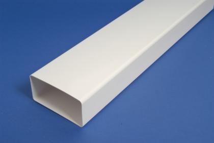 Ilmanvaihtokanava muovi suora 55x110mm, 1M