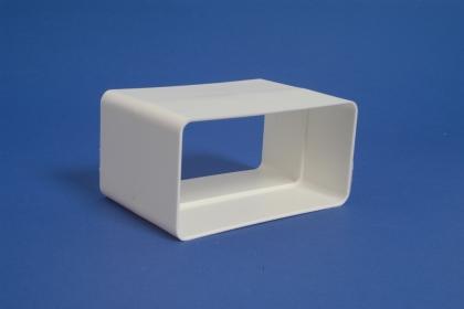 Kanavaliitin muovi 110x55mm, 90*