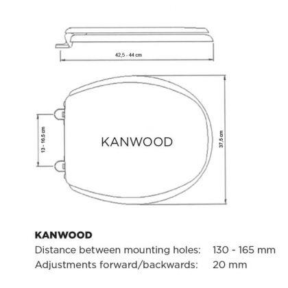 Wc-istuinkansi Kanwood, pyökki