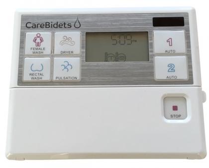Pesevä ja kuivaava elektroninen WC-bidee Viudetta Jasmin Care
