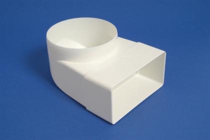 Mutkaliitin muovi supistus 110x55mm