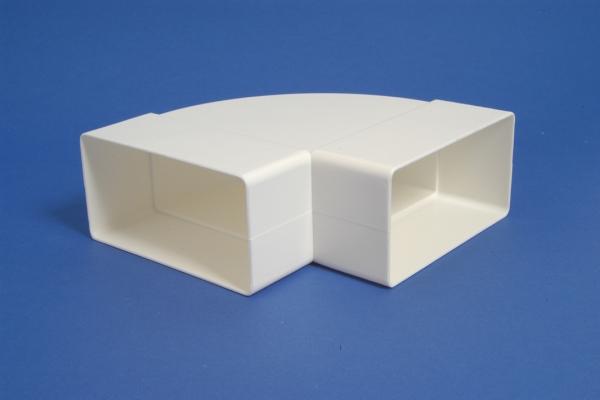 Mutkaliitin vaakasuora 110x55mm, 90*