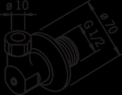 KULMALIITINPARI SULUIN ORAS 10 MM 281213/2