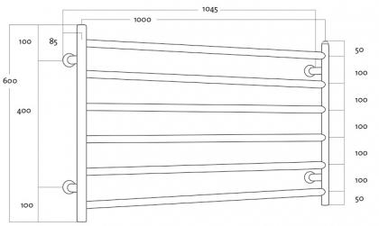Rej Design kuivain Largo EH 100606 V/Y, O/A